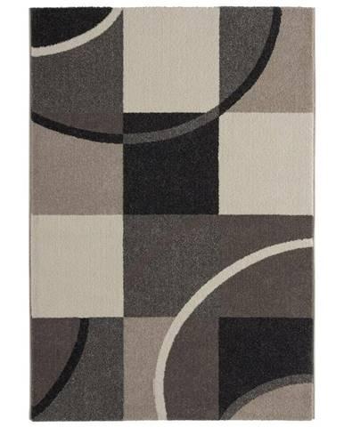 Tkaný koberec Palermo 3, 160/230cm, sivá