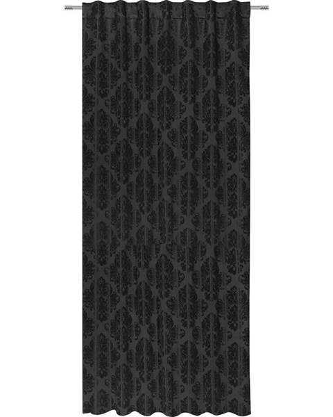 Möbelix Hotový Záves Charles, 140/245 Cm, Čierna