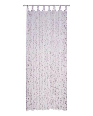 Záves S Pútkami Christiane, 140/250cm, Fialová
