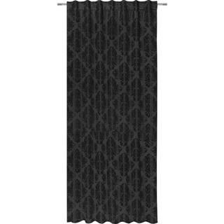 Hotový Záves Charles, 140/245 Cm, Čierna