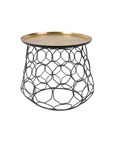Kovový odkladací stolík Dutchbone Moulin, ⌀ 54 cm