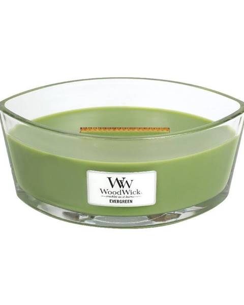 WoodWick Sviečka s vôňou ihličia Woodwick, 30 hodín horenia