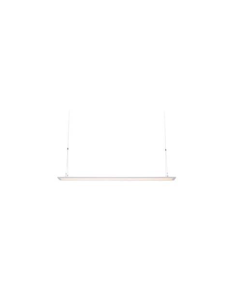 Markslöjd Biele závesné svietidlo Markslöjd Plan, dĺžka 120 cm