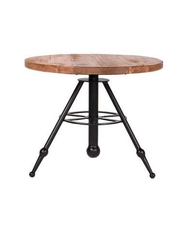 Odkladací stolík s doskou z mangového dreva LABEL51 Solid, ⌀ 60 cm