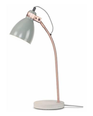 Svetlosivá stolová lampa Citylights Denver