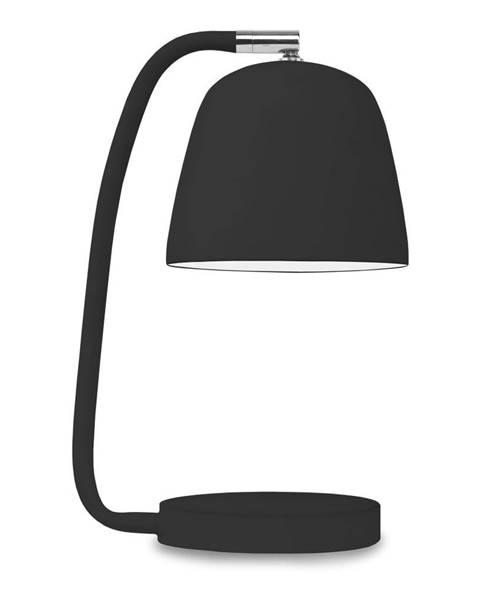 Citylights Čierna stolová lampa Citylights Newport