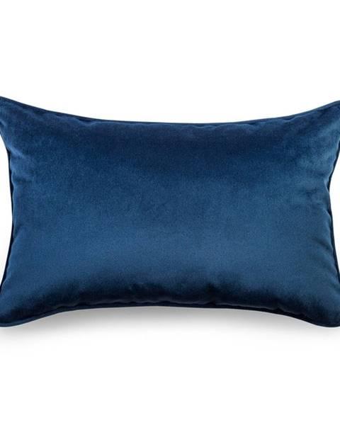 WeLoveBeds Modrá obliečka na vankúš WeLoveBeds Royal, 40 × 60 cm