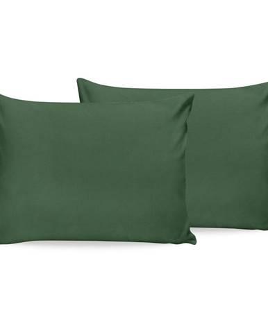 Sada 2 zelených bavlnených povlakov na vankúš Beverly Hills Polo Club, 50 x 70 cm