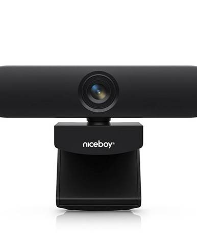 Webkamera Niceboy Stream Elite 4K čierna