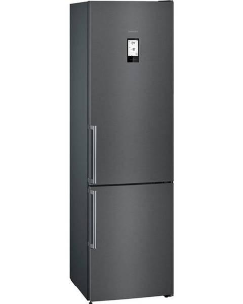 Siemens Kombinácia chladničky s mrazničkou Siemens iQ500 Kg39nhxep čierna