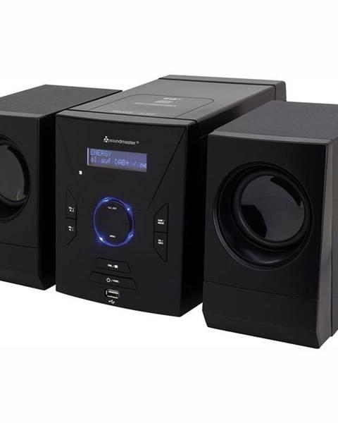 Soundmaster Mikro HiFi systém Soundmaster MCD400 čierny