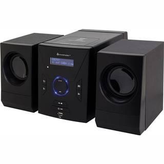Mikro HiFi systém Soundmaster MCD400 čierny