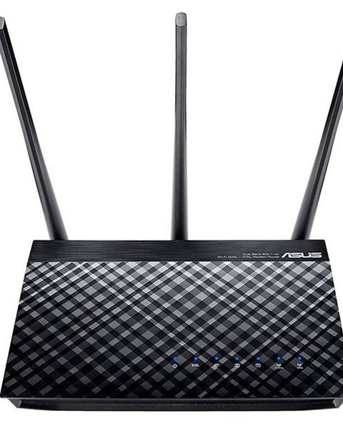 Asus Router Asus DSL-AC750 - AC750 dvoupásmový Adsl/Vdsl Wi-Fi Modem