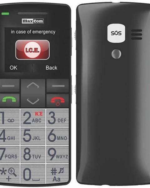 MaxCom Mobilný telefón MaxCom MM715 + SOS náramek čierny
