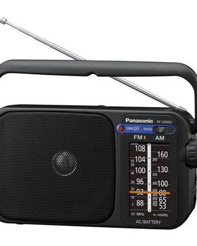 Rádioprijímač Panasonic RF-2400DEG-K čierny