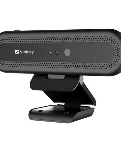 Sandberg Webkamera Sandberg Webcam Face Recognition 1080p čierna