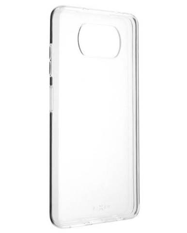 Kryt na mobil Fixed na Xiaomi Poco X3 priehľadný