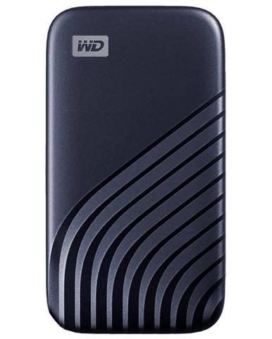 SSD externý Western Digital My Passport SSD 500GB modrý
