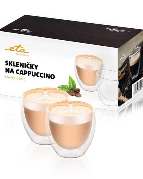 Eta Poháre na cappuccino ETA 4181 91010 sklo