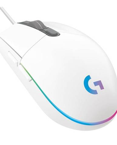 Myš  Logitech Gaming G102 Lightsync biela