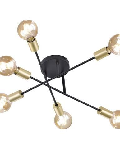 Stropné svietidlo Trio Cross, výška 19 cm