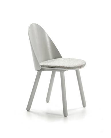 Sivá stolička Teulat Uma