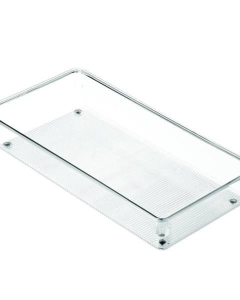iDesign Priehľadný kuchynský organizér iDesign Linus, 30,5 x 15 cm