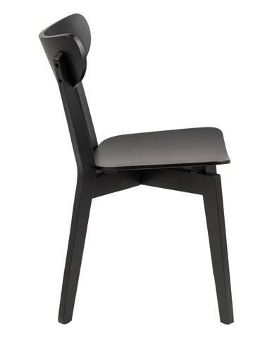 Čierna jedálenská stolička Actona Roxby