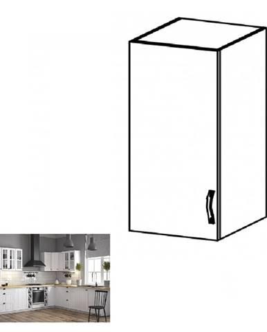 Horná skrinka G40 ľavá biela/sosna andersen PROVANCE