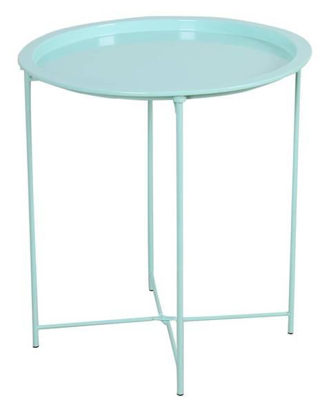 Tempo Kondela Príručný stolík s odnímateľnou táckou neo mint RENDER