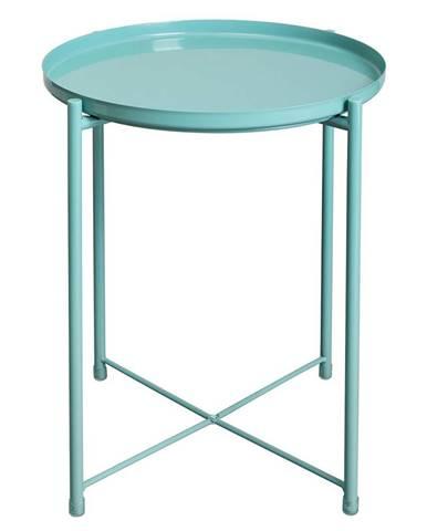 Príručný stolík s odnímateľnou táckou neo mint TRIDER
