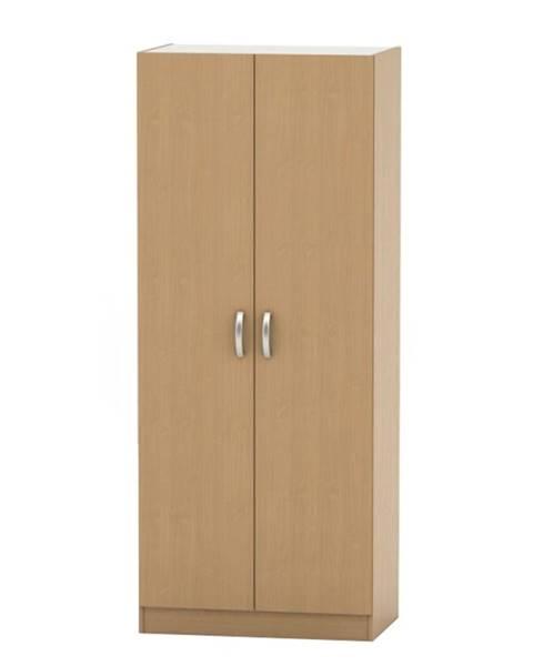 Tempo Kondela 2-dverová skriňa buk BETTY 2 BE02-002-00