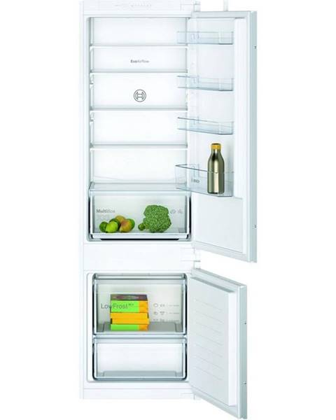 Bosch Kombinácia chladničky s mrazničkou Bosch Serie   2 Kiv87nsf0