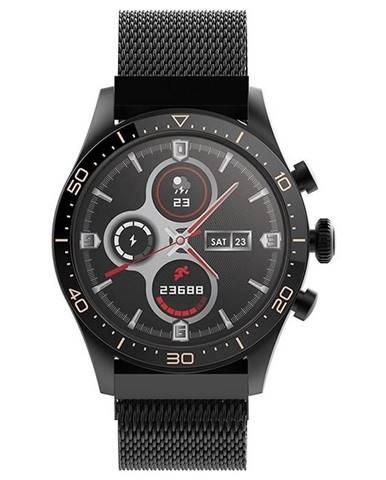 Inteligentné hodinky Forever Icon AW-100 čierne