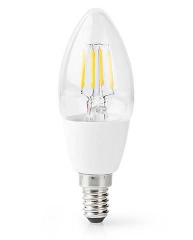 Inteligentná žiarovka Nedis svíčka, Wi-Fi, 5W, 400lm, E14, teplá