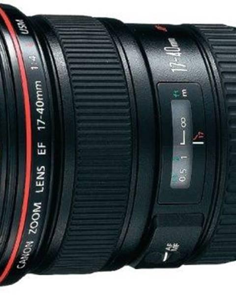 Canon Objektív Canon EF 17-40mm f/4.0 L USM čierny