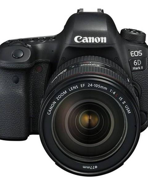 Canon Digitálny fotoaparát Canon EOS 6D Mark II + EF24-105 IS STM čierny