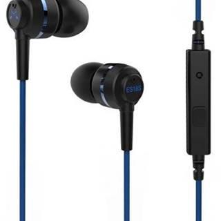 Slúchadlá Soundmagic ES18S čierna/modrá