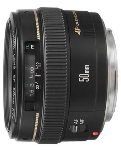 Objektív Canon EF 50 mm f/1.4 USM čierny