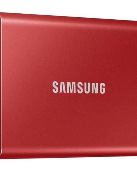 Samsung SSD externý Samsung T7 1TB červený