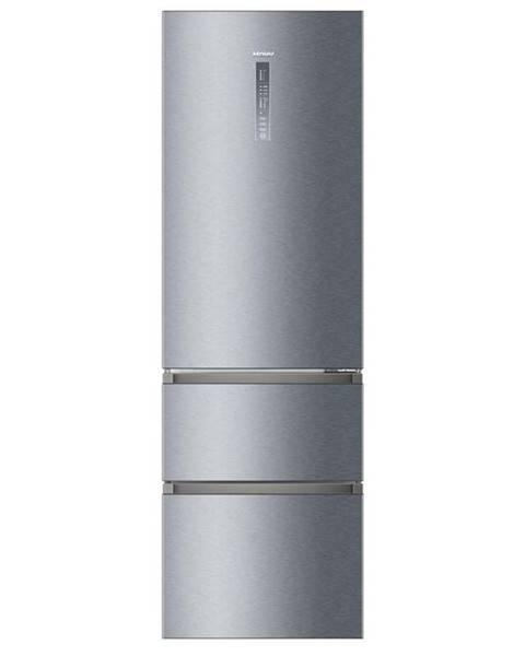 Haier Kombinácia chladničky s mrazničkou Haier A3fe835cgje Titanium