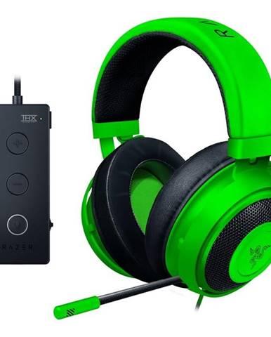 Headset  Razer Kraken Tournament Edition čierny/zelený