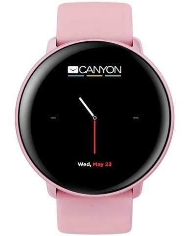 Inteligentné hodinky Canyon Marzipan ružový