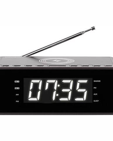 Rádiobudík Thomson CR225I čierny/siv