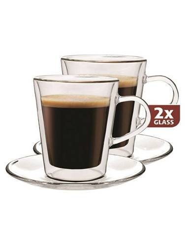 MAXX Doppio 2-dielna sada termo pohárov, 100 ml,