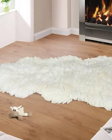 Bellatex Vlnená predložka Kožušina biela