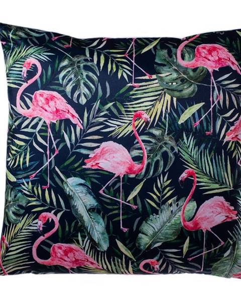 4Home Jahu Obliečka na vankúšik Flamingo listy, 40 x 40 cm