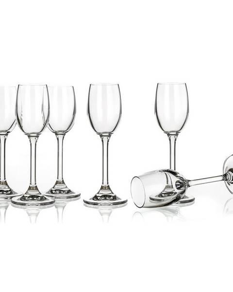 Banquet Banquet 6-dielna sada pohárov na likér Leona, 60 ml