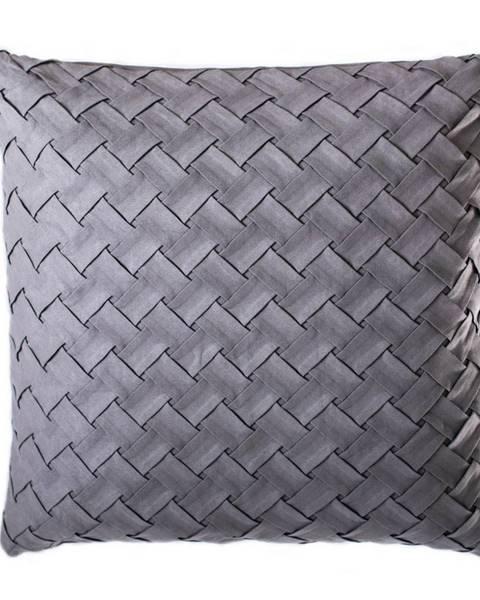 Jerry Fabrics Jahu Vankúšik Gama sivá, 40 x 40 cm