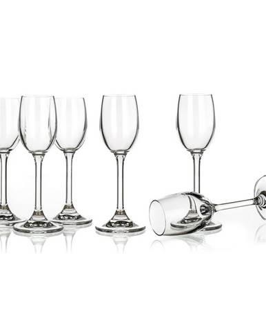 Banquet 6-dielna sada pohárov na likér Leona, 60 ml